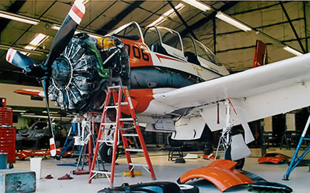 warbird maintenance
