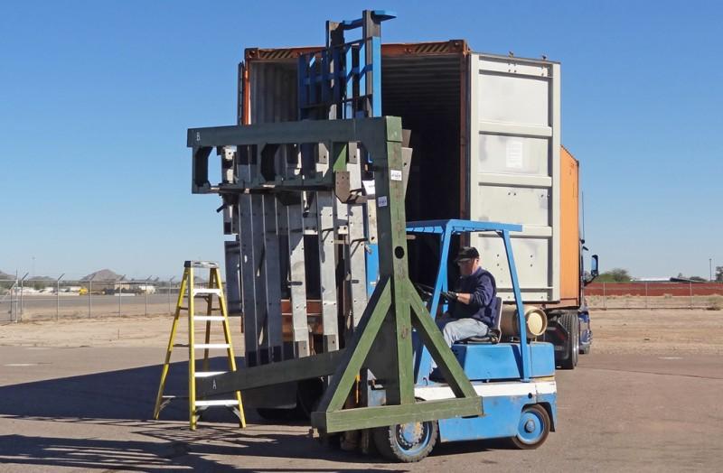5 Unloading Fock-Wulf jig