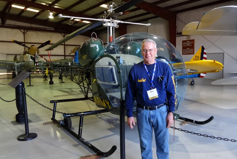 6 Dave Goss with Bell 47