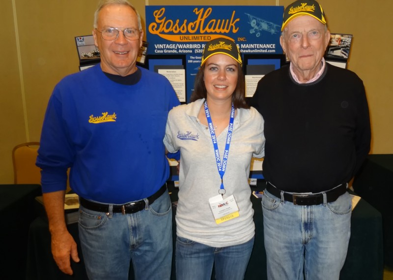 2 Dave Goss, Lindsey Goss, and Jerry Yellin